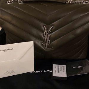 Authentic YSL LOULOU medium Bag